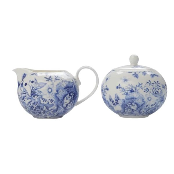 MAXWELL & WILLIAMS Toile de Fleur Sugar/Creamer Set