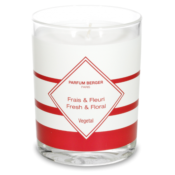 Fresh & Floral Scented anti-odour kitchen candle by Maison Berger Paris