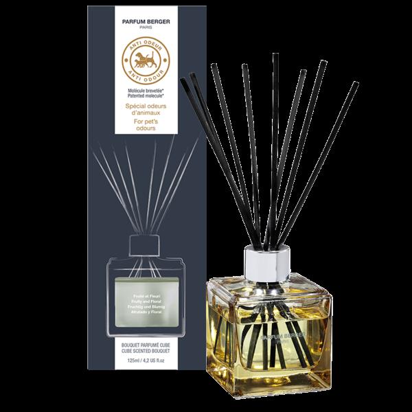 """Bouquet parfumé cube anti odeur de cuisine """"Fruité et Fleuri"""" par Lampe Berger Paris"""