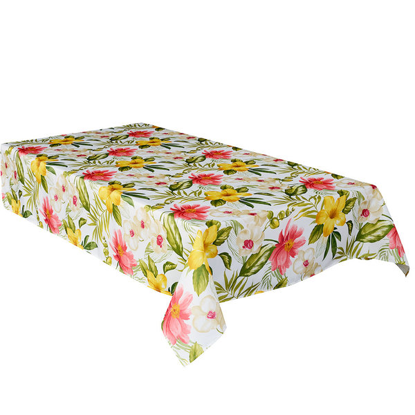 "TEXSTYLES Waikiki 58"" x 94"" Rectangle Tablecloth"