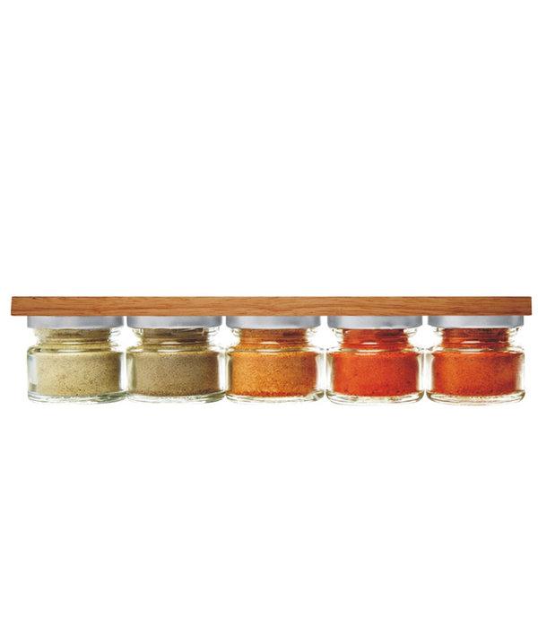 Danesco Support pour couteaux magnétique acacia DANESCO