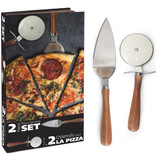 Natural Living Ensemble pour couper et servir pizza de Natural Living