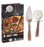 Natural Living Natural Living Pizza Serving Set