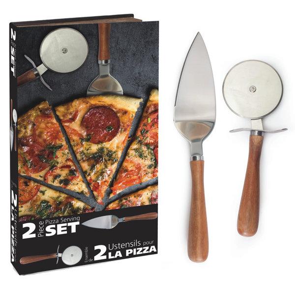 Ensemble pour couper et servir pizza de Natural Living