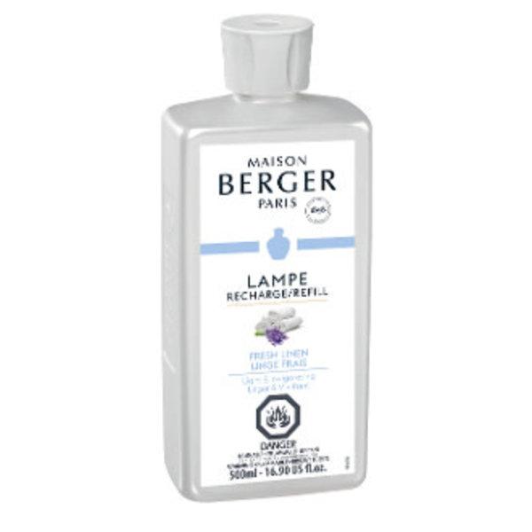 """Parfum Recharge """"Linge frais"""" 500mL de Maison Berger Paris"""