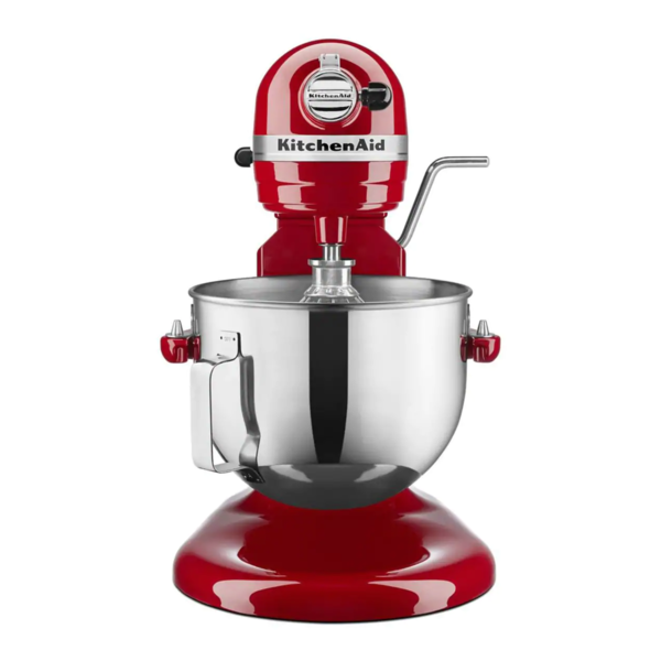 Batteur sur socle à bol relevable Professional de KitchenAid, rouge