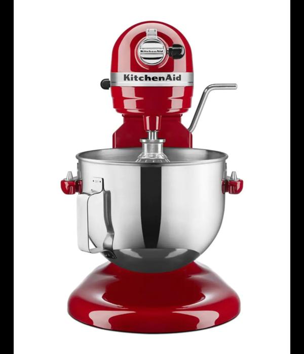 KitchenAid Batteur sur socle à bol relevable Professional de KitchenAid, rouge