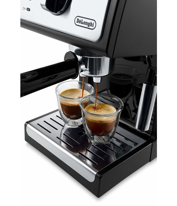 Delonghi DeLonghi Manual Pump Espresso Machine , Black