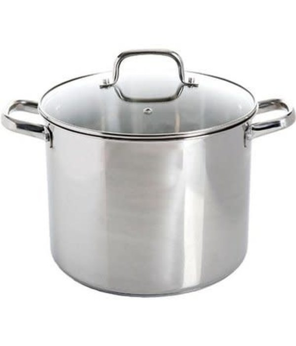 Oster 12 Quart Stainless Steel Stock Pot With Lid