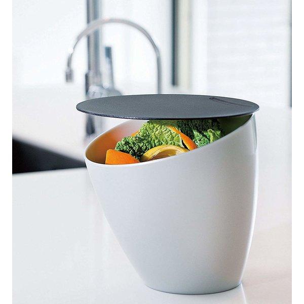 """Rosti """"Calypso"""" Compost 7.5 x 7 White Bin"""
