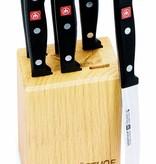 Wüsthof 6 couteaux à steak avec bloc Wüsthof Gourmet