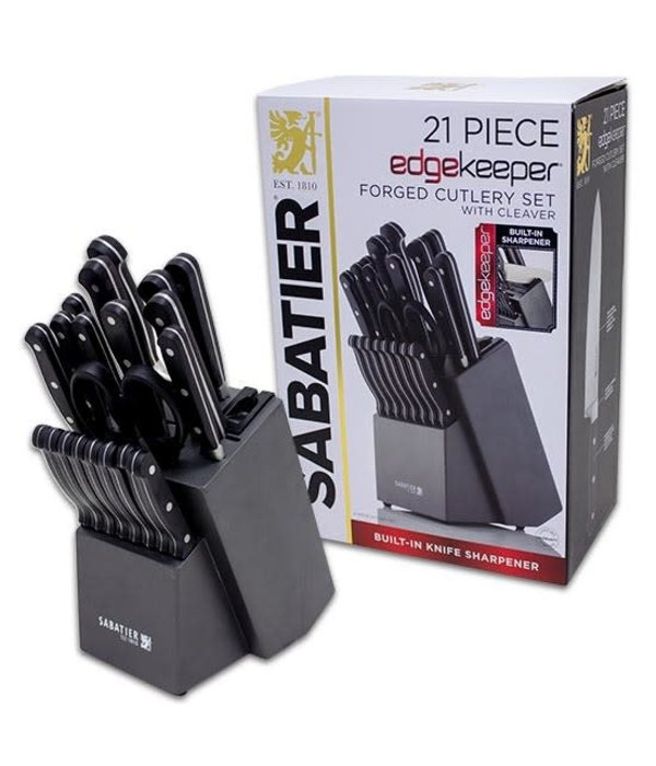 Sabatier 21pc Forged Knife Block Set