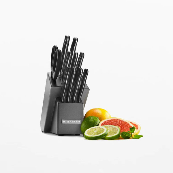 Kitchenaid 12pc Classic Forged Knife Block Set