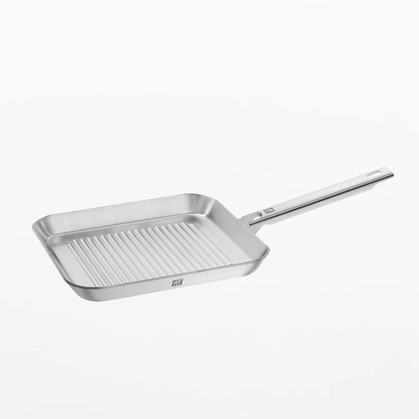 ZWILLING Plus 9.5″ Stainless Steel Grill Pan