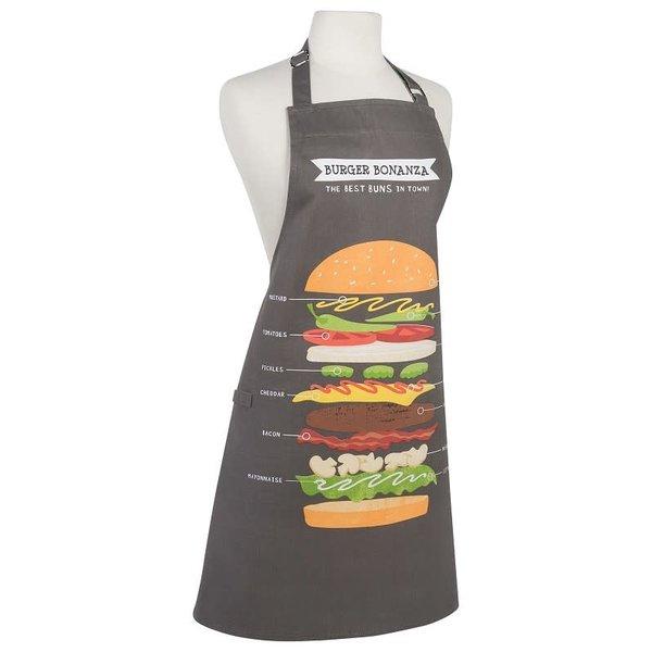 "NowDesigns Tablier ""Burger Bonanza"" (Anglais)"