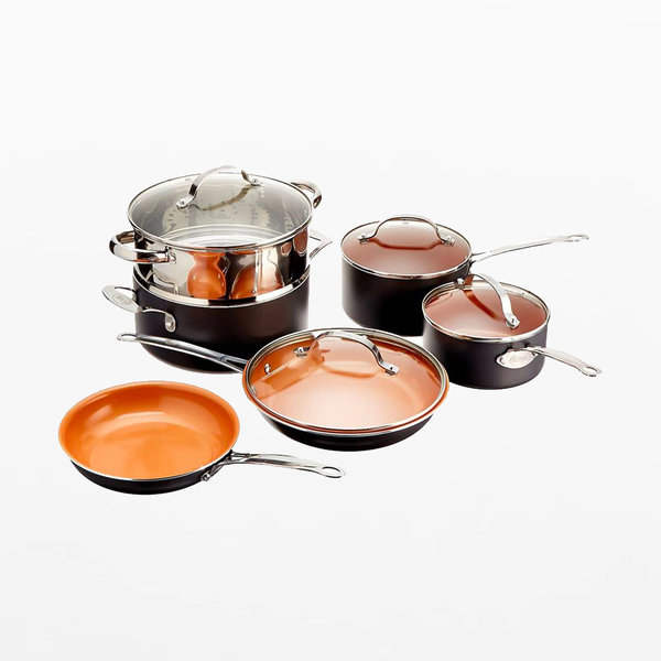 Gotham Steel 10 Piece Cookware Set