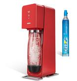SodaStream Source Red Plastic
