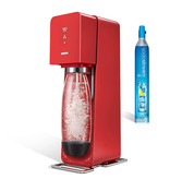Source rouge plastique de SodaStream