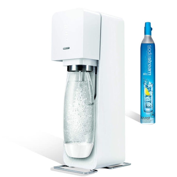 SodaStream Source White Plastic