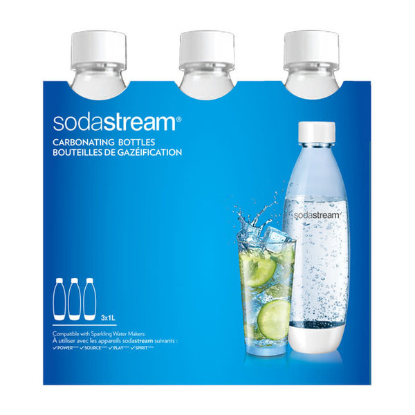 SodaStream 1 L Fuse Bottle White