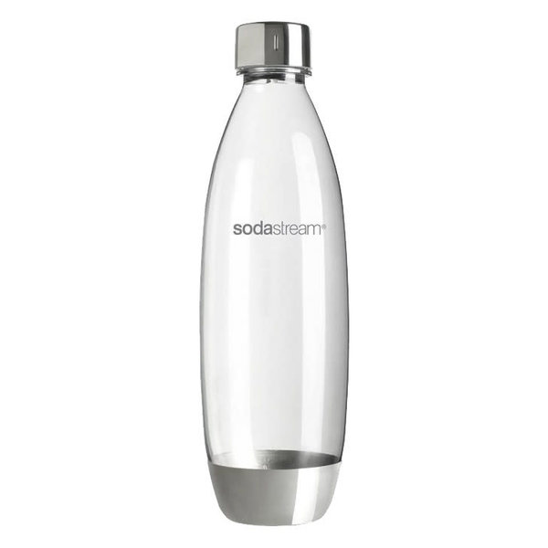 SodaStream 1 L Fuse Bottle Stainless Steel