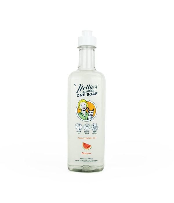 "Nellie's Savon ""One Soap""  de Nellie's, Melon, 570ml"