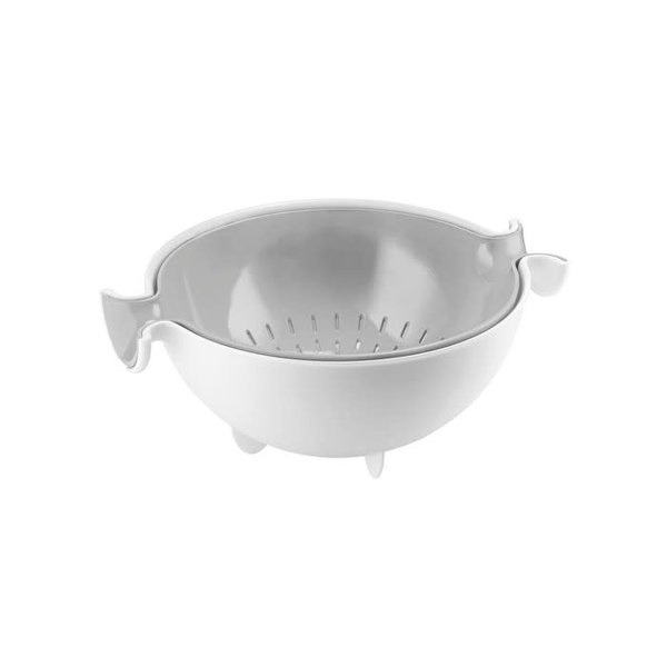 Guzzini  Spin & Drain Colander and Bowl Set