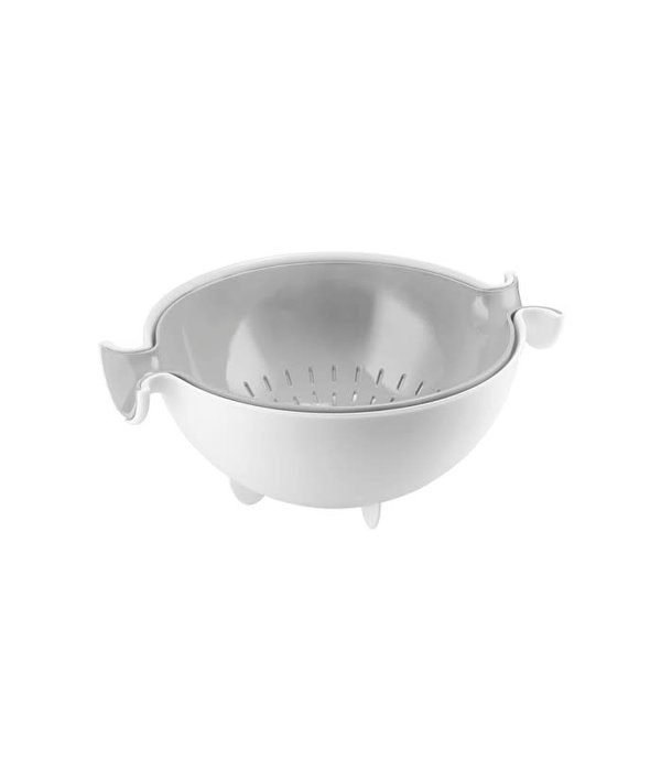 Guzzini Guzzini  Spin & Drain Colander and Bowl Set
