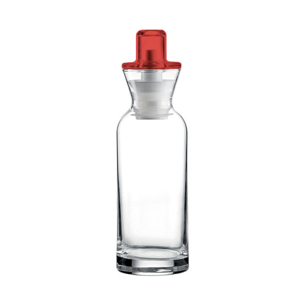 "Guzzini Oil/Vinegar Cruet ""Perfect Dressing"" Red"