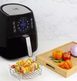 Friteuse à Air Chaud Digitale avec une Grille Double-Niveau noire 3.2qt 1400W de Kalorik