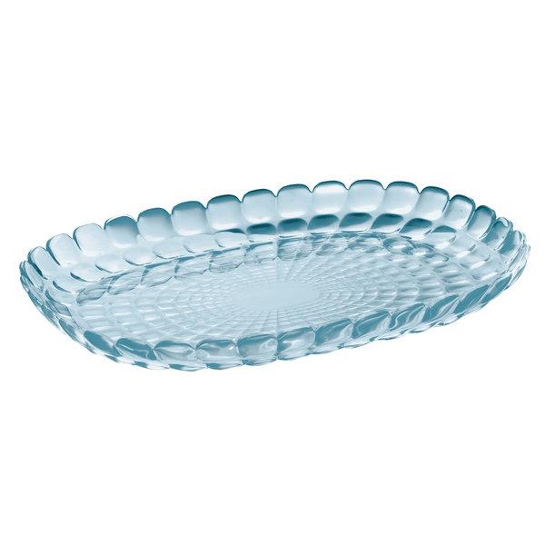 Plateau de service ''Tiffany'' bleu mer  32 cm  de Guzzini