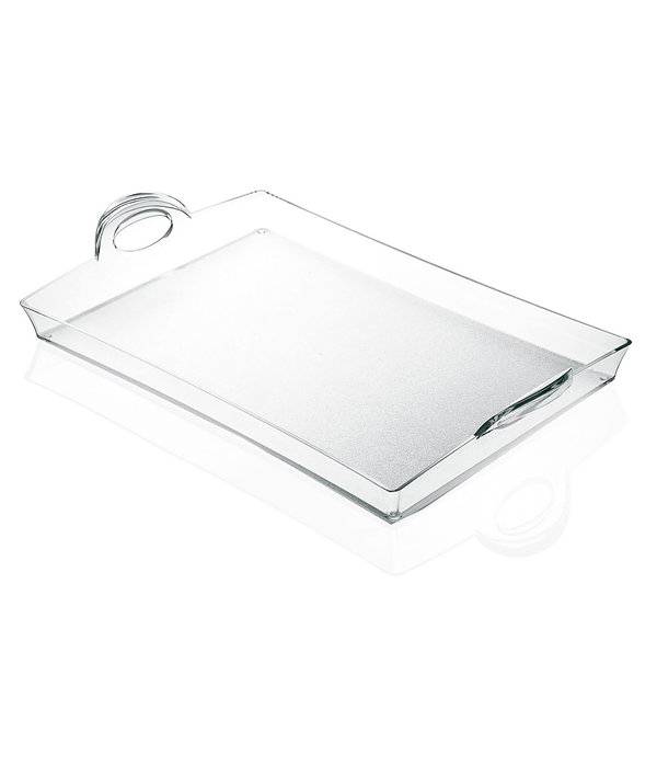 Guzzini Plateau rectangulaire ''Happy Hour'' de Guzzini