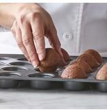 Trudeau Moule à 24 mini muffins en métal de Trudeau