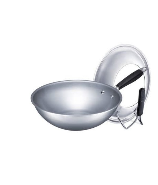 Supor Supor 30 cm 5-Ply Wok with Standing Lid