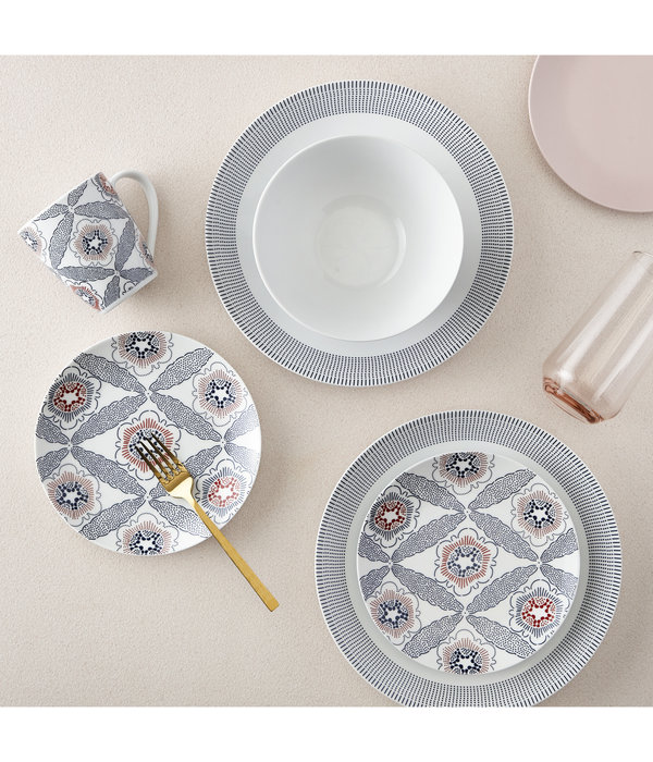 H2K 16pc  Fez Dinnerware Set