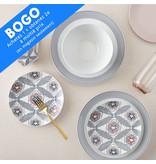 Ensemble à vaisselle 16mcx  en porcelaine Fez H2K