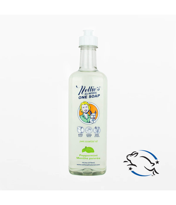Nellie's Nellie's All-Natural One Soap 570ml, Peppermint