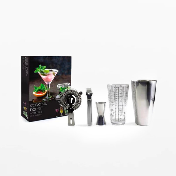 Danesco Drink and Bar 5pc Cocktail Bar Set