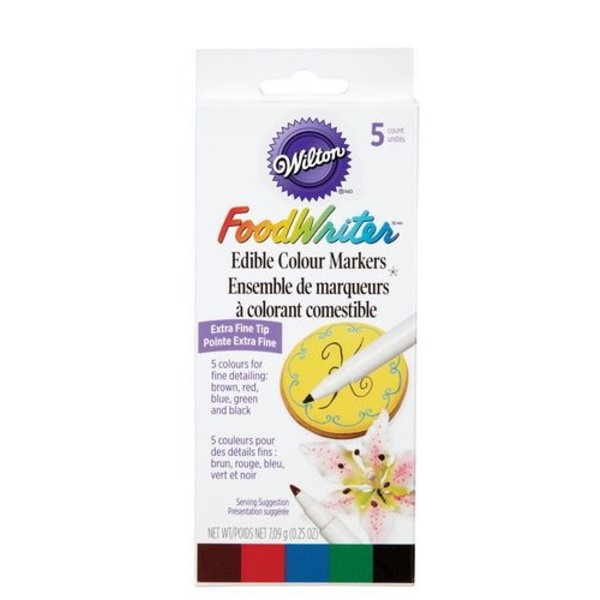 Wilton Set of 5 Edible Colour Markers