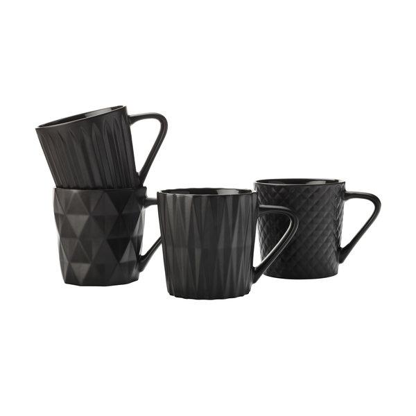 """Ens. 4 tasses à café """"Cosmos"""" de Maxwell & Williams"""