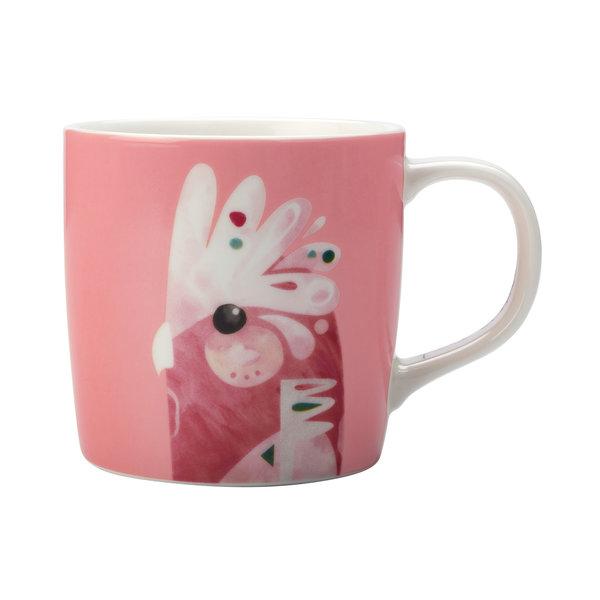 """Tasse à café 375ml """"Cacatoès rosalbin"""" de Pete Cromer"""