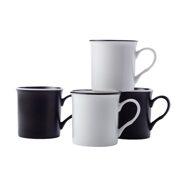 Maxwell & Williams Manhattan Mug 310ML Set of 4