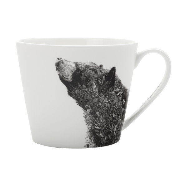 Marini Ferlazzo Mug Asiatic Black Bear 450ml