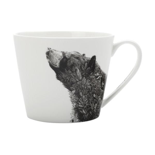 """Tasse à café 450ml """"L'ours noir d'Asie"""" de  Marini Ferlazzo"""