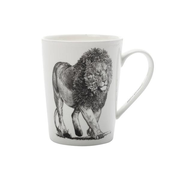 """Tasse à café 450ml """" Lion d'Afrique"""" de  Marini Ferlazzo"""
