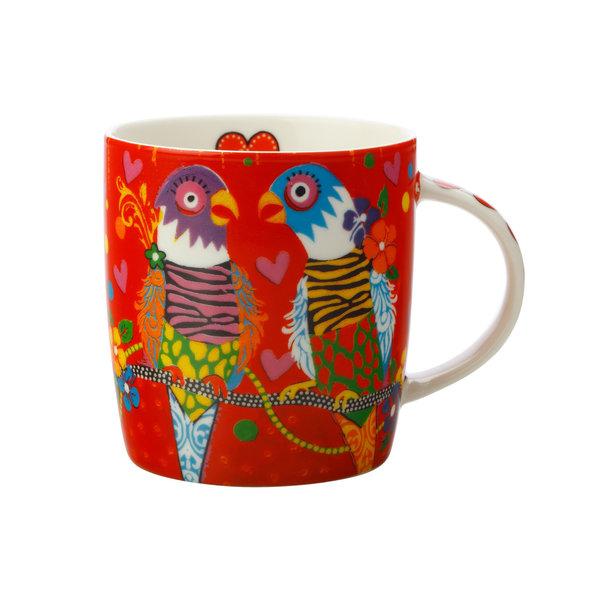 Maxwell & Williams Lovebirds 370ml Mug