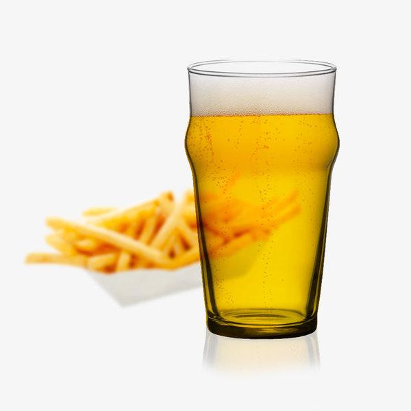 Ens. 4 verres à bière 19.75oz Bormioli Rocco