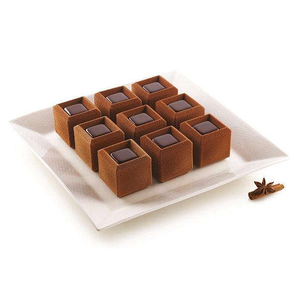 Moule à mini-gâteaux en silicone Mosaico 945ml de Silikomart