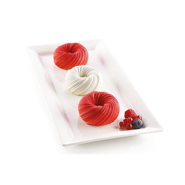 Moule à gâteau en silicone mini-Intreccio 630ml de Silikomart