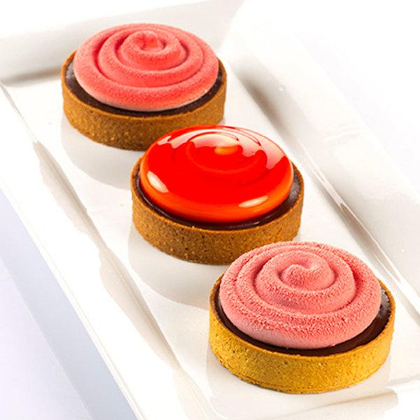 Kit pour mini-tartes 8 cm de Silikomart